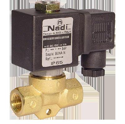 КГЭЗ-10-100-220-М клапан газовый электромагнитный